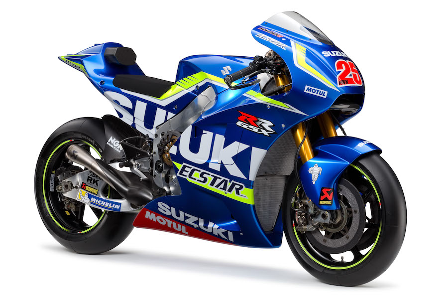 Vinales' 2016 Suzuki. Photo courtesy of Suzuki