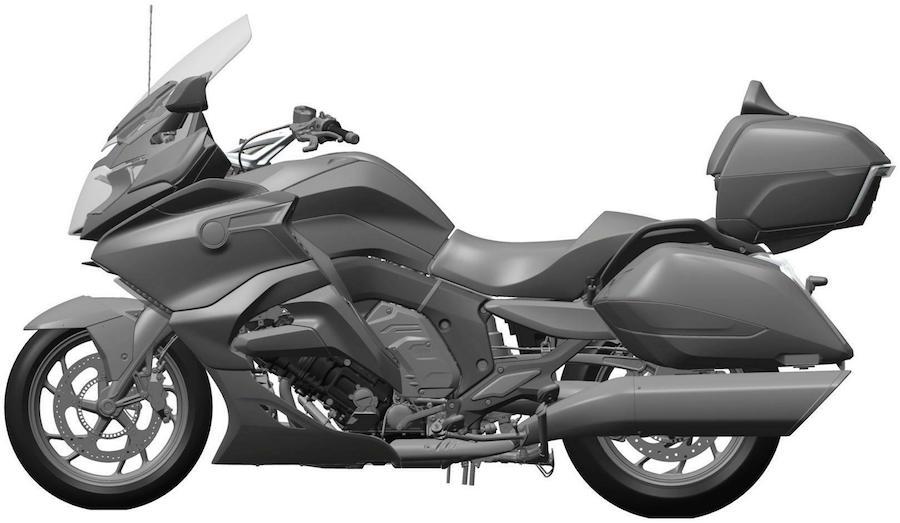 BMW's six-pot bagger! - Australian Motorcycle News