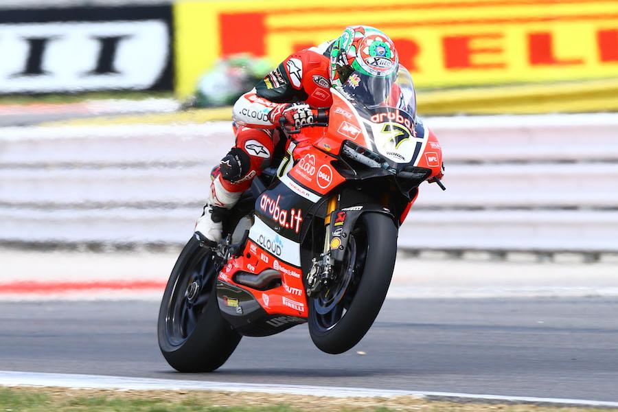 Davies, WSBK Race1, Misano WSBK 2016