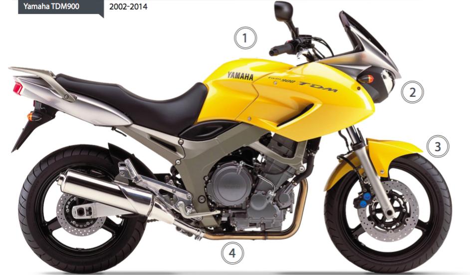 yamaha tdm900 2002-2014 - australian motorcycle news