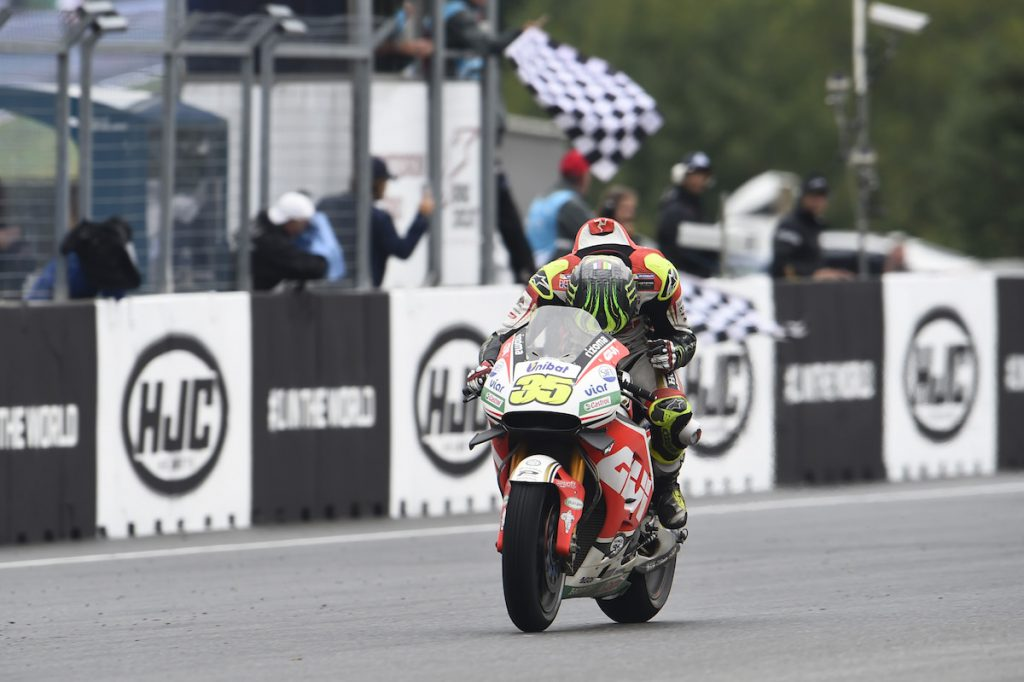 Crutchlow, wins, Czech MotoGP race 2016