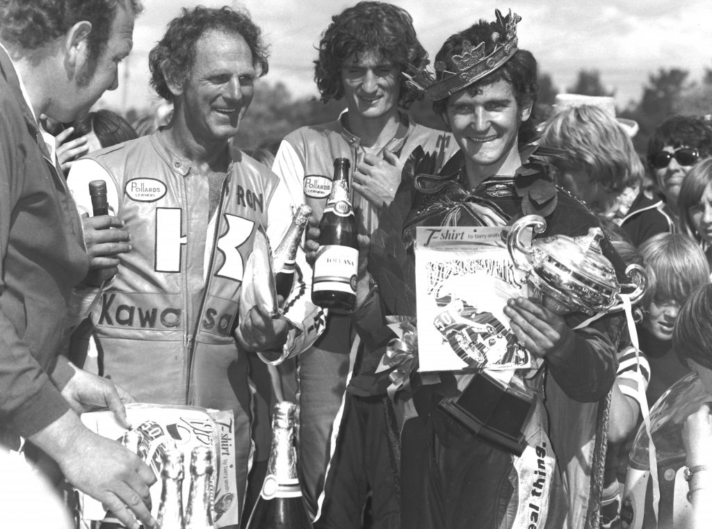 1975 King of the Weir winner, with Ron toombs and Murray Sayle