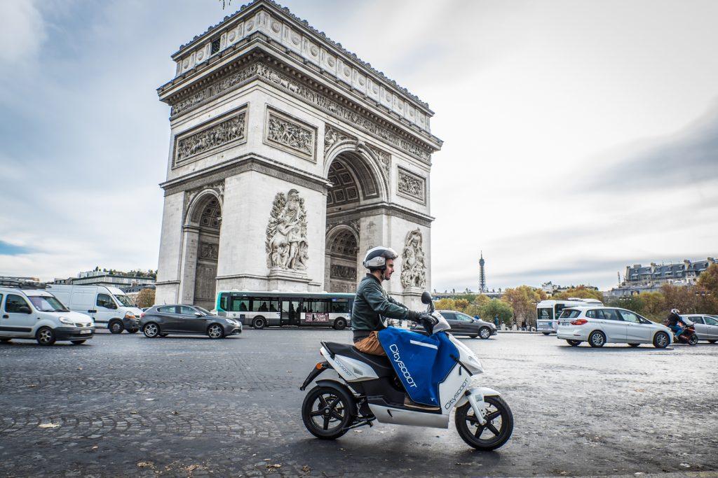 Cityscoot Paris 24