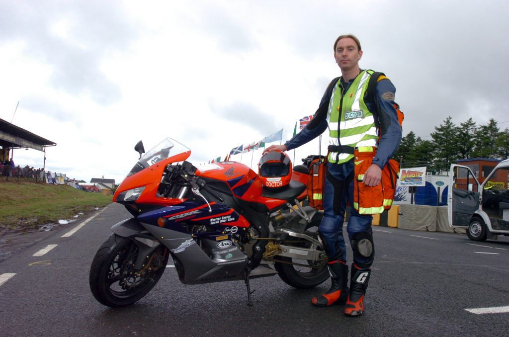PACEMAKER, BELFAST, 2015: Dr John Hinds who was killed in a crash during practice for the Skerries 100 last week. PICTURE BY STEPHEN DAVISON