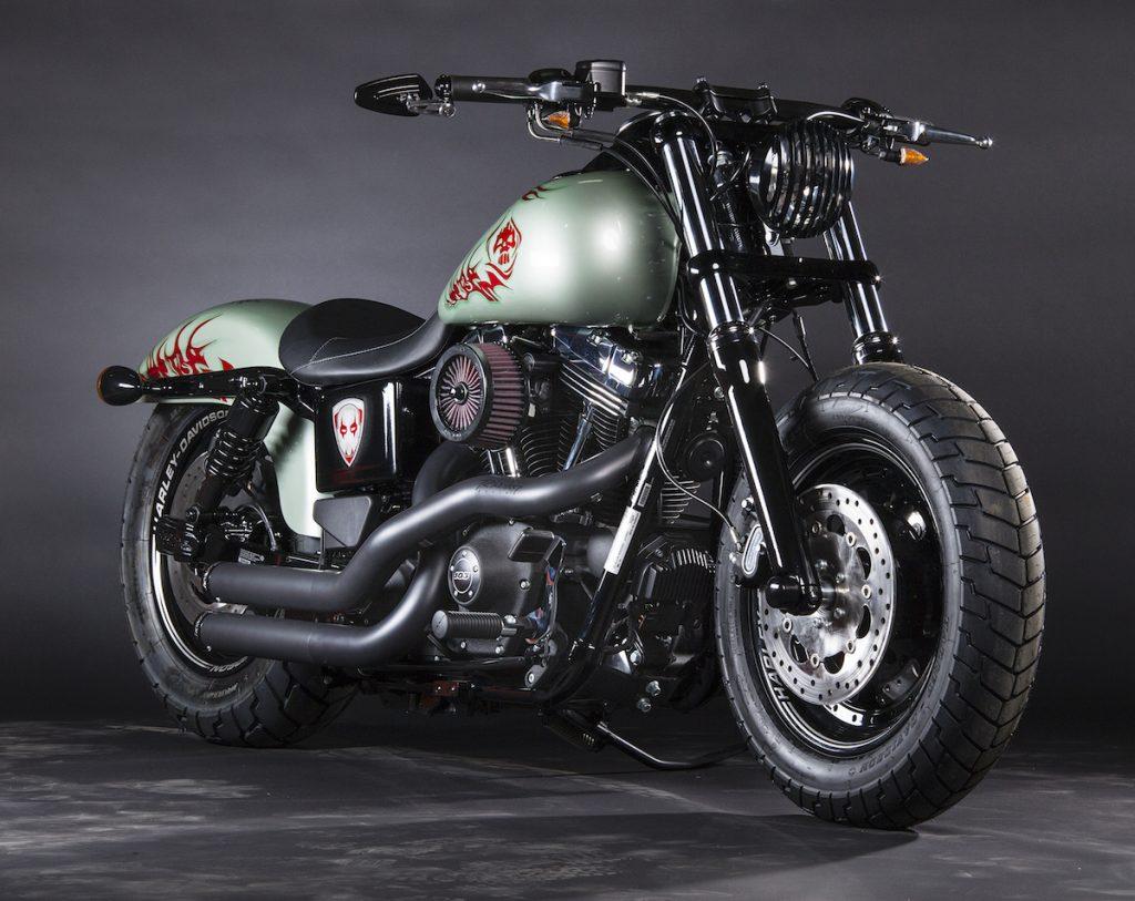 Drax the Destroyer, Fat Bob (Dyna) – North Coast V-Twins (NSW) & Richardson's Harley-Davidson (TAS)