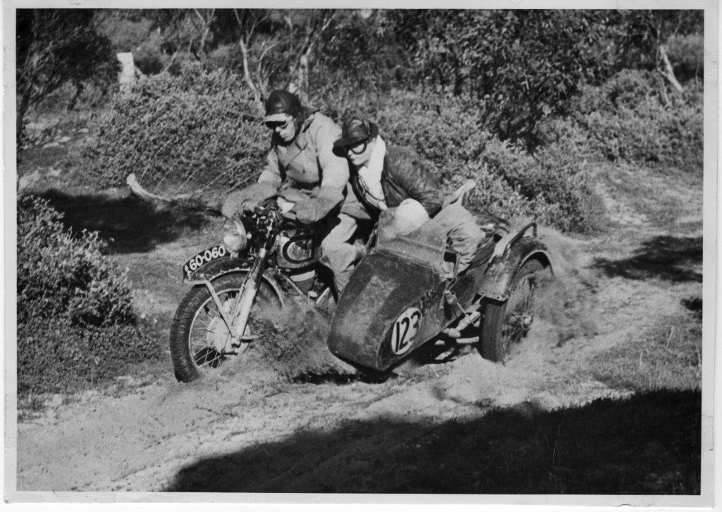 Ron Ophel Len Bowes pass 1954 24hr