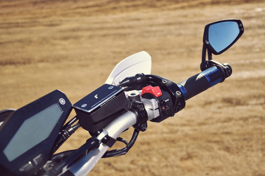 Bars feature Pazzo levers, CRG mirrors and a heap of Rizoma goodies