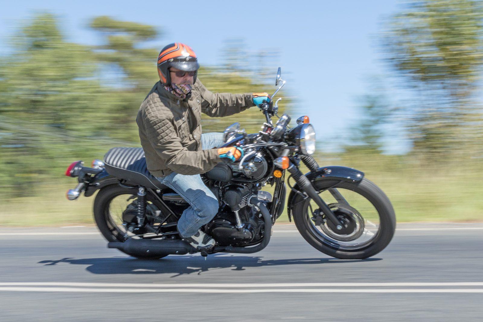 Quickspin On Kawasaki W800 Australian Motorcycle News