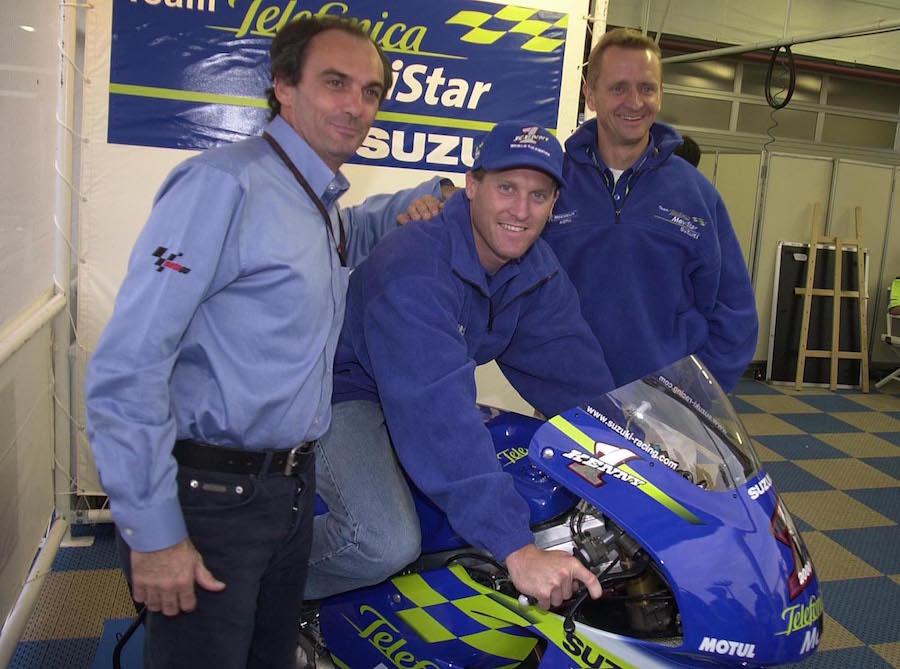 Roberts and Schwantz MotoGP 2000