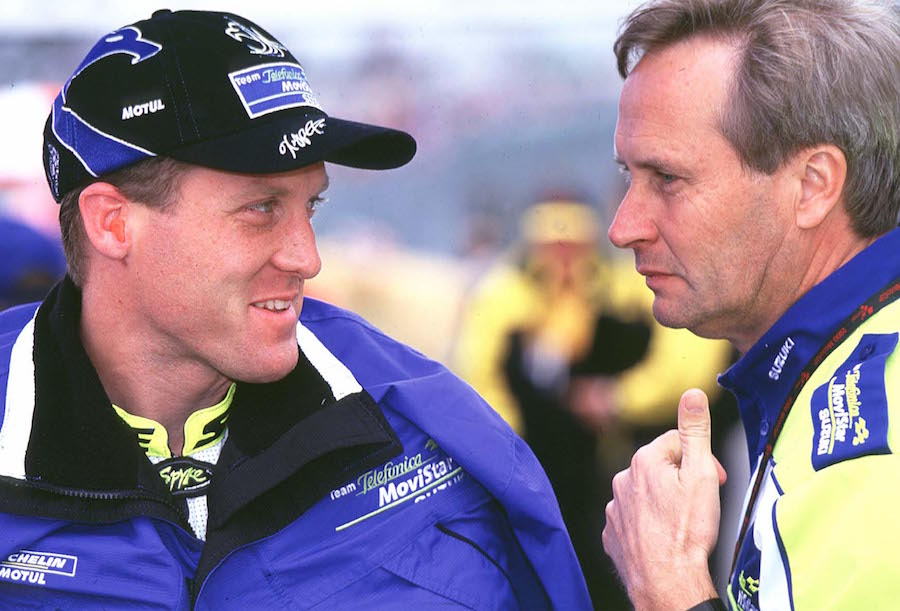 Roberts portrait MotoGP 2000