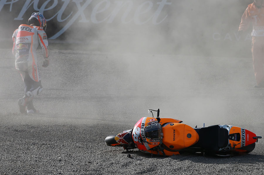 Pedrosa crash, Japanese MotoGP 2016