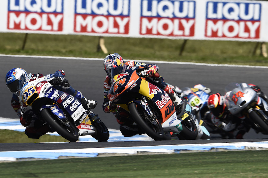 Bendsneyder, Australian Moto3 Race 2016
