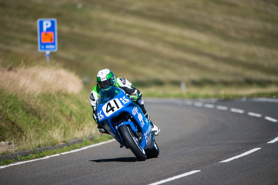 Aussie Alex Pickett won the privateer's trophy in the Superbike race with a gutsy seventh place after battling through the field from 35th.