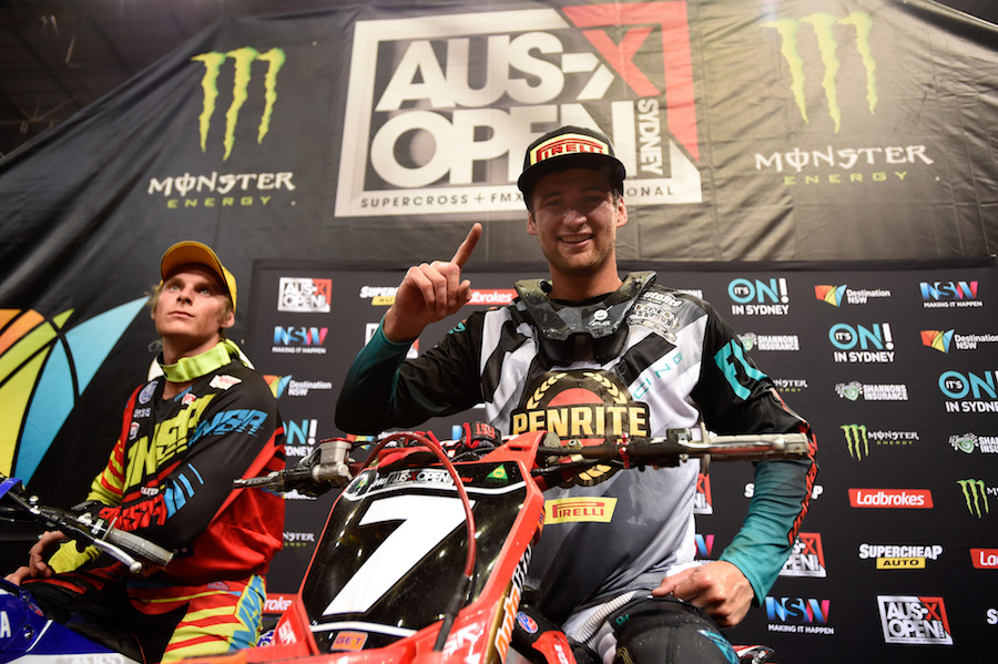 Gavin Faith won the final three rounds of the Australian Supercross, wrapping up the Championship in second place overall.