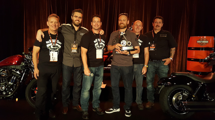 The highly sought after  Harley-Davidson Dealer of the Year for 2016 award went to Steve Schilling, Dealer Principal of Gold Coast Harley-Davidson and his team at the Harley-Davidson National Dealer Meeting held in Sydney last week.