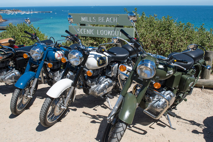 ALIVE, Royal Enfield Media Drive Day @ Carrum to Mornington