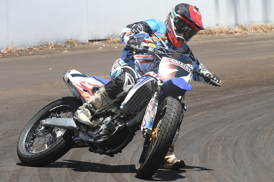 Sammy Halbert is one of three AMA Pro flat track champions who will compete at the 2017 event.