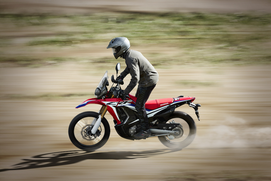 The Honda CRF250 RALLY will be landing in Australia in March 2017 and is priced at $7,299 (MLP)