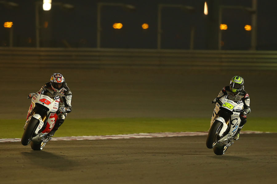 Miller and Crutchlow, Qatar MotoGP test March 2015