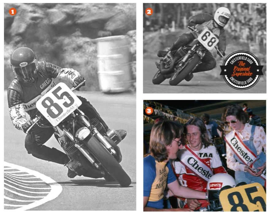 1. Gregg Hansford deputised for Willing in round one 1974 2. Garry Thomas won the final series and $4000 3. Willing and his superhot Kawasaki H2 was a winning combo