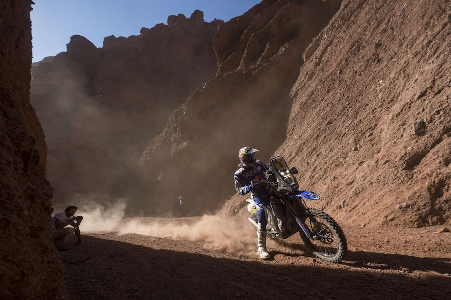 Helder Rodrigues (PRT) of Yamalube Yamaha Official Rally Team races during stage 03 of Rally Dakar 2017 from Tucuman to Jujuy, Argentina on January 4, 2017