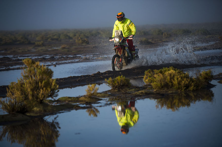 Walter Nosiglia Jager (BOL) of Mecteam Nosiglia races during stage 08 of Rally Dakar 2017 from Uyuny, Bolivia to Salta, Argentina on January 10, 2017