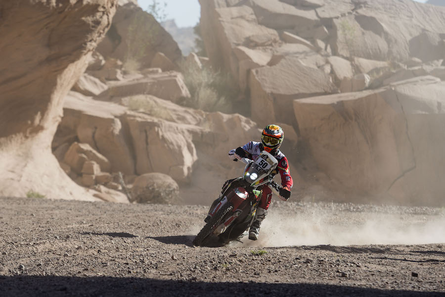 Daniel Nosiglia Jager (BOL) of Mecteam Nosiglia races during stage 10 of Rally Dakar 2017 from Chilecito to San Juan, Argentina on January 12, 2017