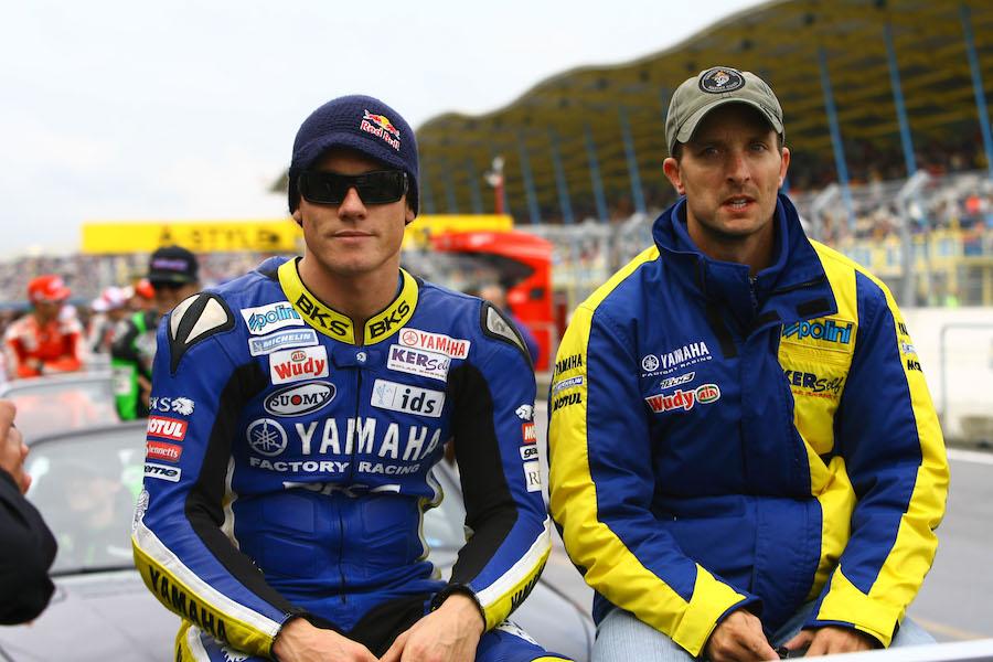 Toseland and Edwards, Dutch MotoGP 2008