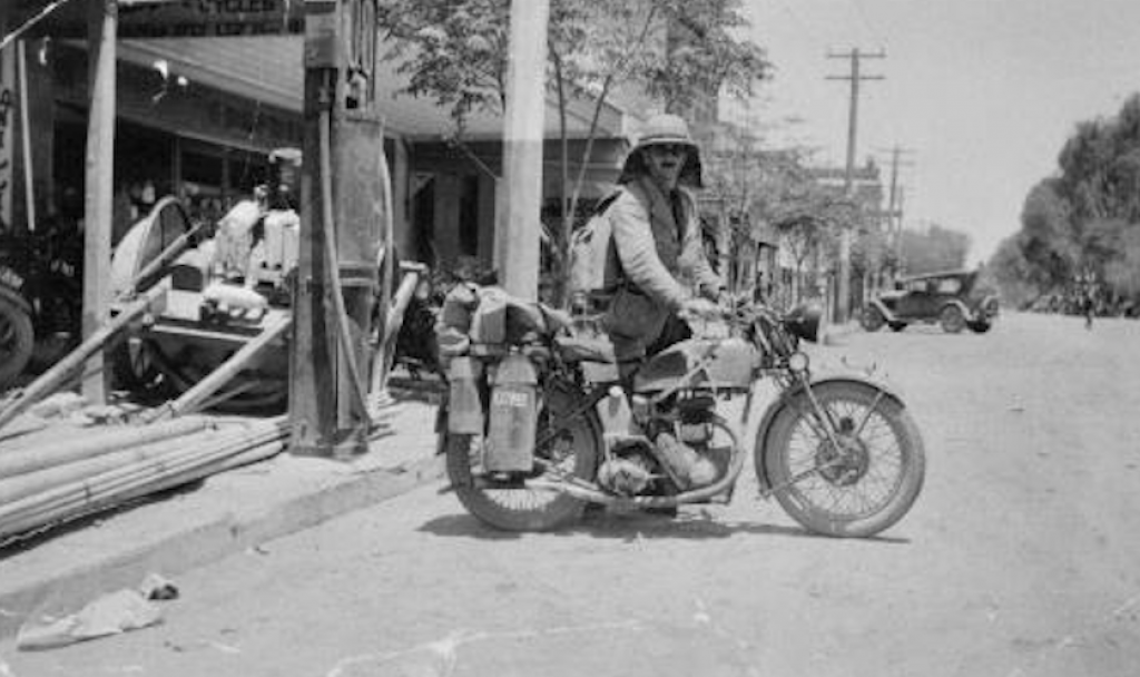 Ranji Parsons' day gig was as a Harley mechanic- Old Bike Australaisa