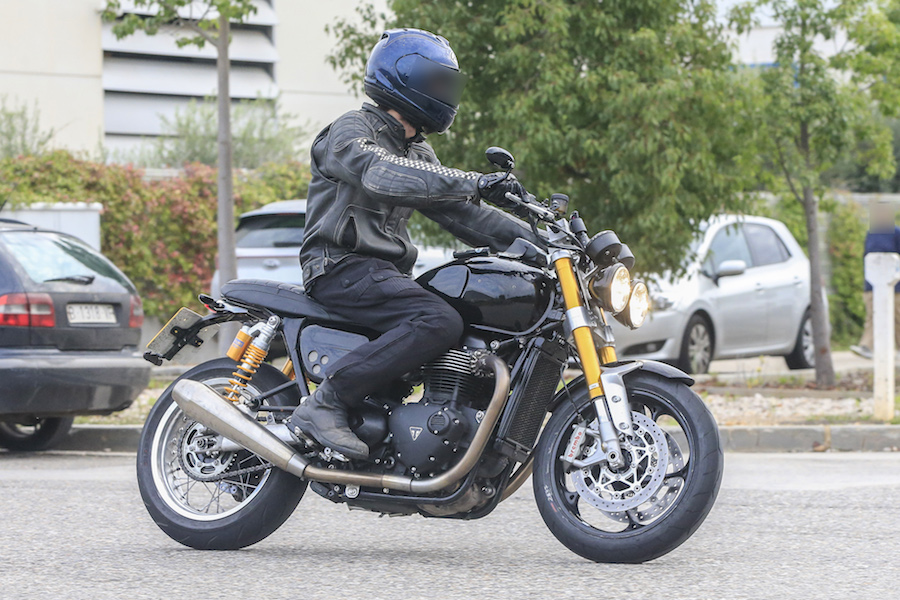 Triumph Speed Twin Spied! - Australian Motorcycle News