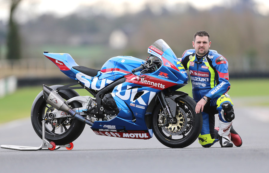Michael Dunlop Set To Race New Gsx R1000 With Bennetts
