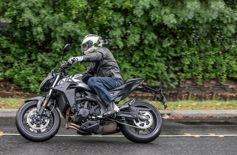 Cf moto test