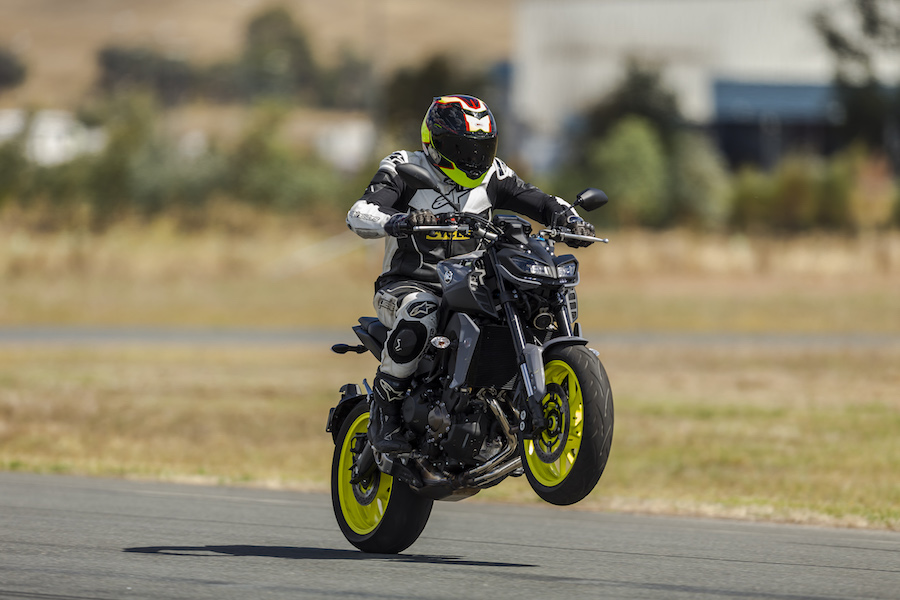 aussie launch yamaha mt-09