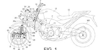 New motorcycle patent appli...