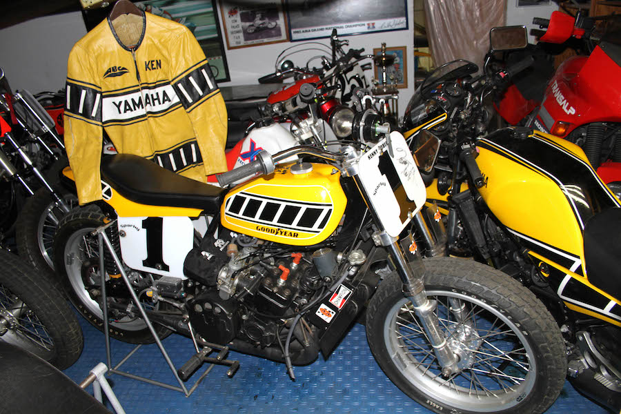 YAMAHA TZ750 FLAT-TRACKER - Banned but not forgotten
