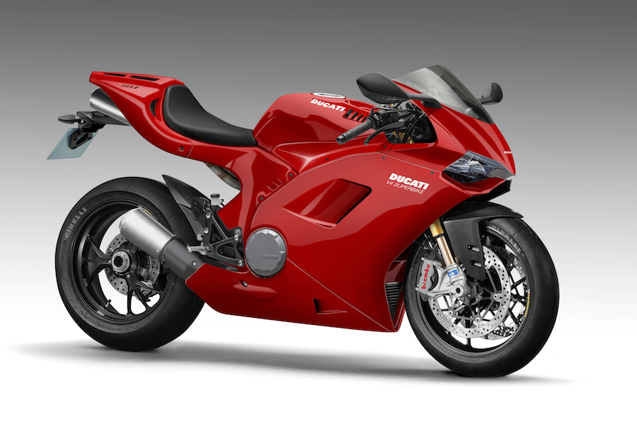 V4 Ducati Superbike looms - Australian Motorcycle News