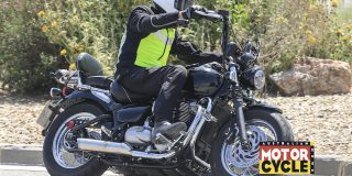 Chopped! Triumph cruiser spied