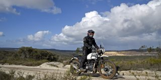 ROYAL ENFIELD HIMALAYAN TEST