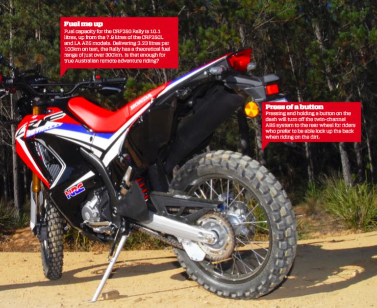 Honda CRF250 Rally - Australian Motorcycle News