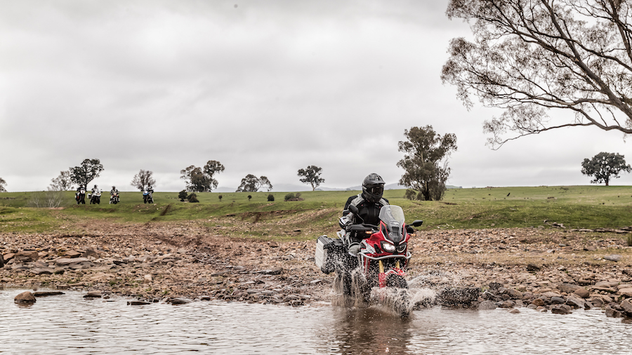test africa twin 2017