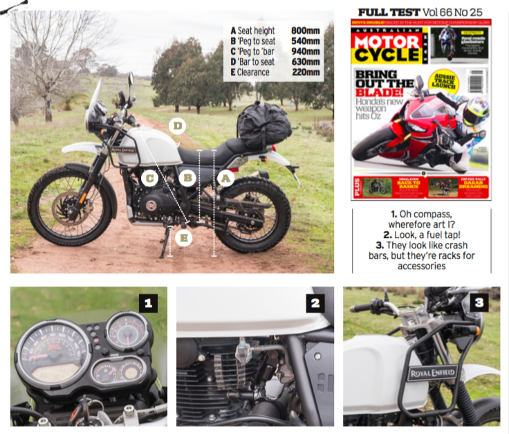 Swell Amcn Adventure Test Royal Enfield Himalayan Australian Cjindustries Chair Design For Home Cjindustriesco