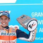 Marquez tips the scales at Aragon