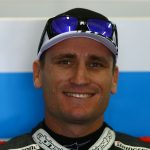 Broc Parkes on MotoGP grid at Phillip Island