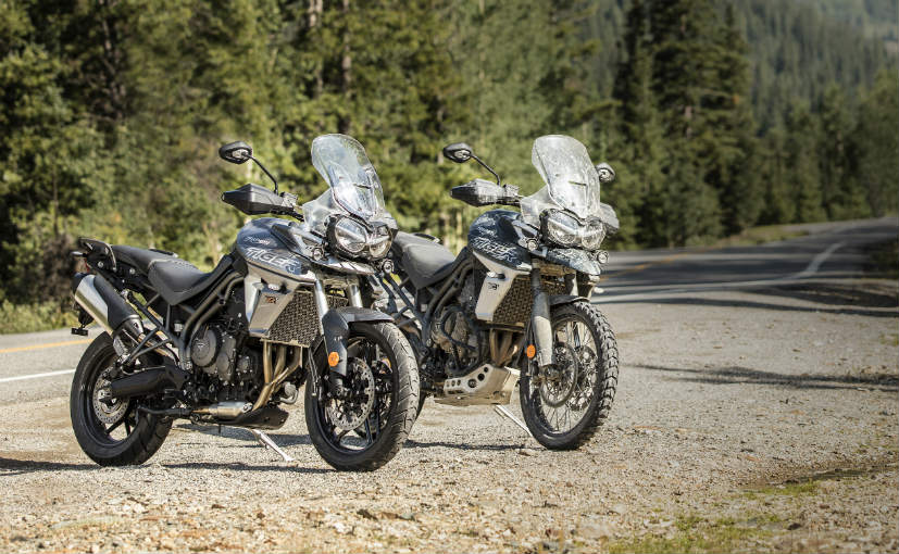 Meet Triumphs New Tiger 800 Range Australian Motorcycle News