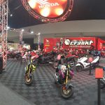 Team Honda Racing Display At Sydney Motorcycle Show 2017