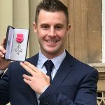 Jonathan Rea receives MBE from Buckingham Palace