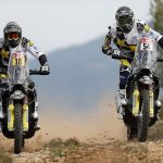 Husqvarna Motorcycles confirm their official rider line-up for the 2018 Dakar Rally