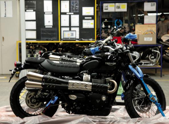 TRIUMPH THAILAND FACTORY - Australian Motorcycle News