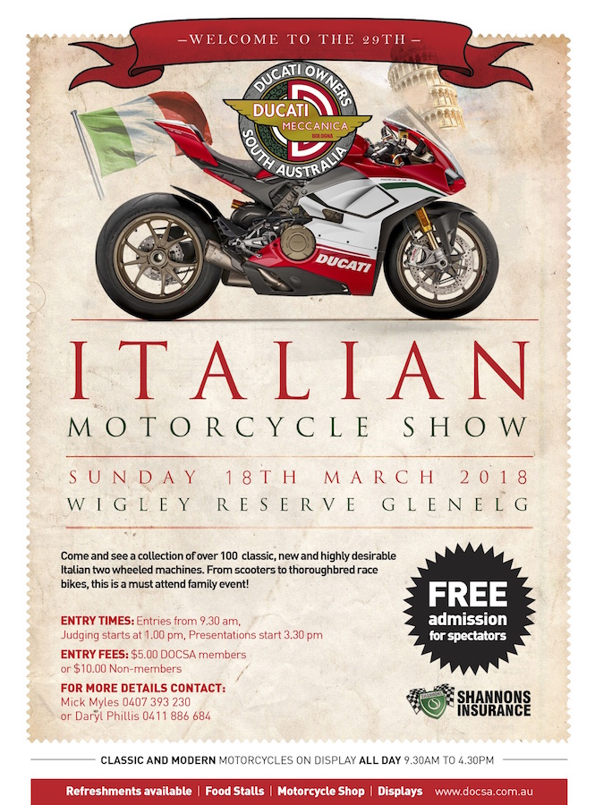 29th Italian Motorcycle Show Australian Motorcycle News