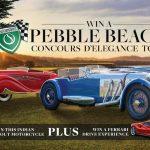 Shannons Pebble Beach Concours D'Elegance Tour Competition'